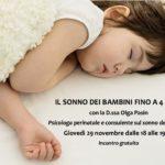 volantino sonno bambini